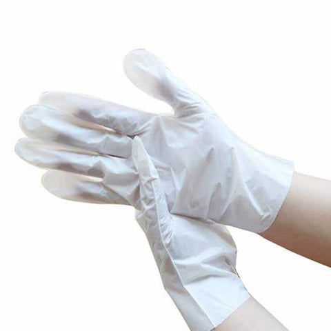 Hand Mask in glove form provide much needed moisture while lighten spots on the hands