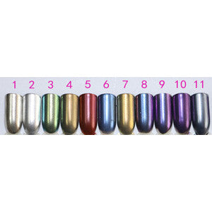 Silver Chrome Nail Powder No 15g