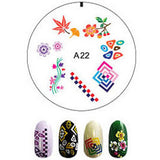 Nail Art Stamping with Enas Stampers