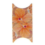 Orange Flowers French Nail Foil Wrap Sheet