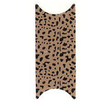 Leopard Print French Nail Foil Wrap Sheet