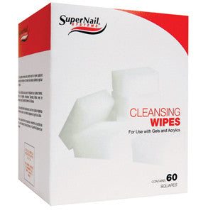 Supernail Cleansing Wipes 60's