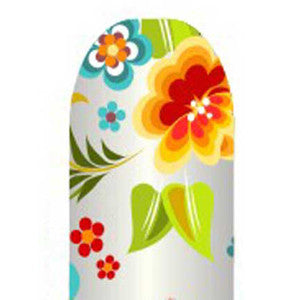 Flowers Full Nail Foil Wrap Sheet