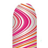 Pink & Orange Swirls Full Nail Foil Wrap Sheet
