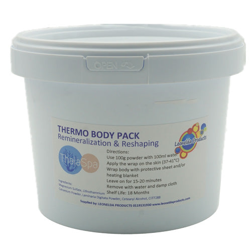 Thalaspa Thermo Body Pack is a professional algae (laminaria) mask specially formulated for slimming purposes and to treat overweight problems.