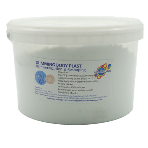 Thalaspa Slimming Body Plast is an alginate body mask, specially formulated for body slimming.
