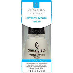 Top Coat Patent Leather China Glaze to create a wet look to nail varnish