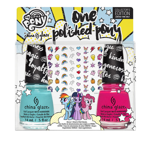 Polished Pony Kit China Glaze Nail Varnish