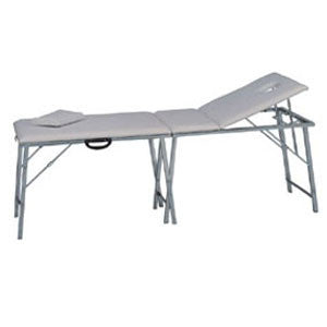 White Portable Metal Bed ZD802AM