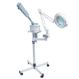 Magnifying Lamp & Steamer Combination