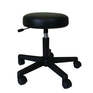 Black Gaslift Manicure Stool