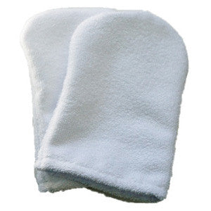White Face Mitt Pair