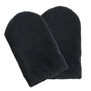 Leonelda Black Face Mitt Pair
