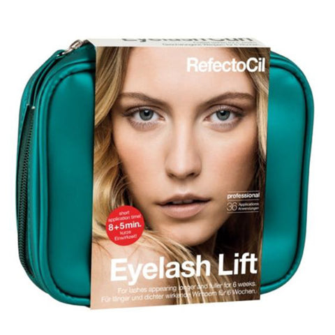 RefectoCil Eyelash Lift Kit lifts lashes and creates an intense, wide-eyed look. The lift makes your natural lashes look significantly longer and thicker.