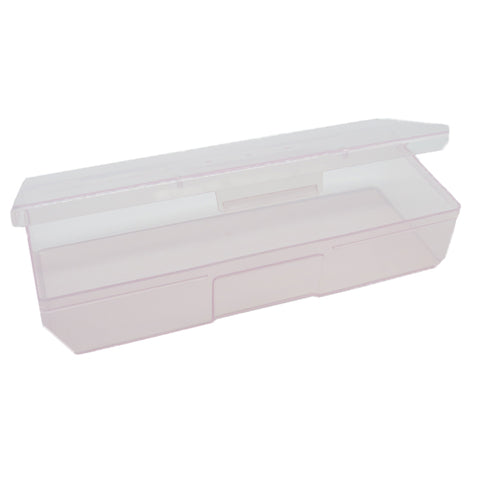 Plastic Large Personal Nail Care Box to store nail buffers and files