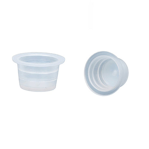 Clear Plastic Pigment / Ink cups for Microblading Pigment fits into Ring Cup Holder