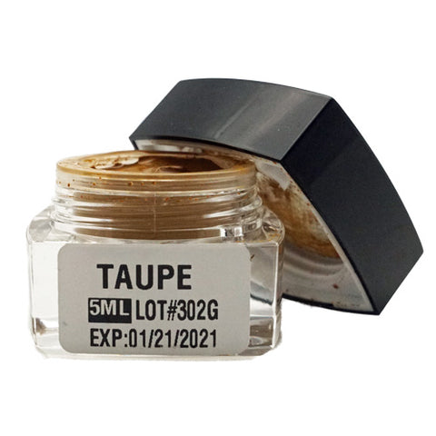 Taupe Microblading Cream Pigment 5ml, stable pigment to prevent red