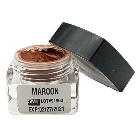 Maroon Microblading Cream Pigment 5ml, modifier for green ash tones