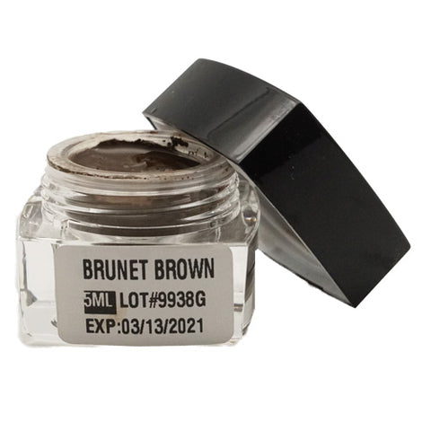 Brunet Brown Microblading Cream Pigment 5ml for eyebrows