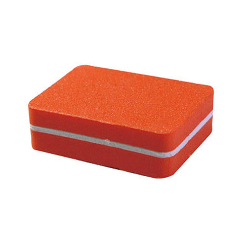 Small Orange Buffing Block  size 3cm x 4cm