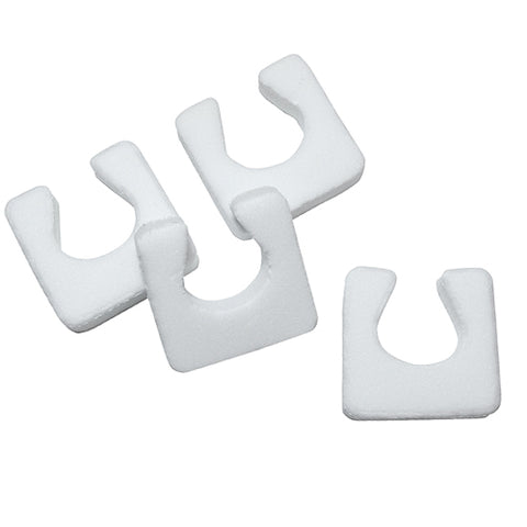 Single Foam Toe Seperators packed in packet of 10 to separate toes during pedicures