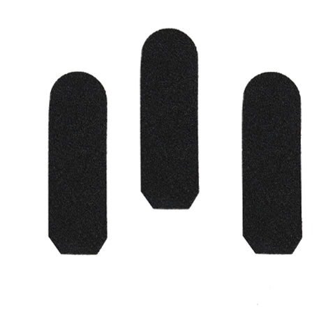 Black Grit Pads for Stainless Steel Foot File Handle 10's