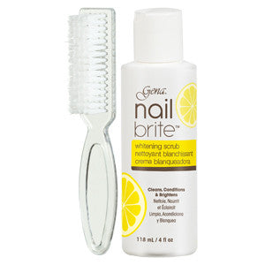Gena Nail Brite with Brush 118ml to whiten and brighten nails