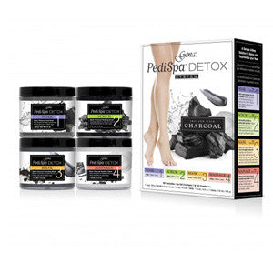 Pedi Spa Detox Black Charcoal Intro Kit