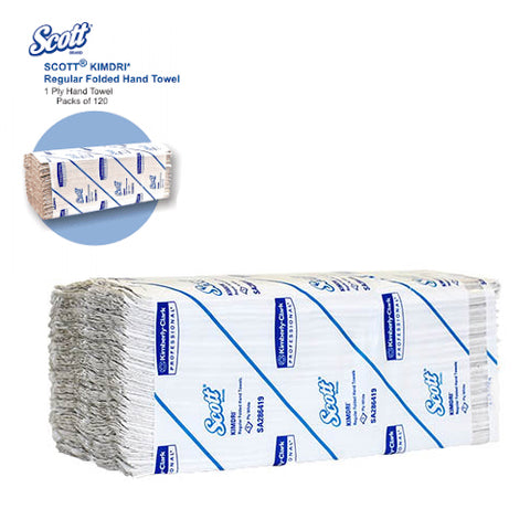 Kimdry Regular Towel 1ply 120s paper towel to dry hands and feet