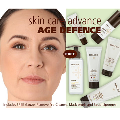 SknLogic Age Defense Advance Retail Facial Product Kit