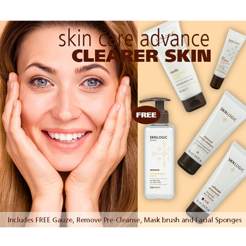 SknLogic Clearer Skin Advance Retail Kit