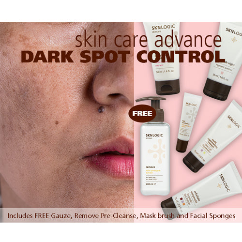 SknLogic Dark Sport Control Advance Retail Face Product Kit