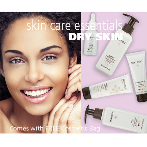 SknLogic Dry Skin Essential Face Products Retail Kit