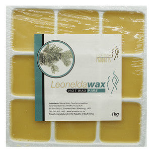 Leonelda Natural Brown Hot Wax 1kg