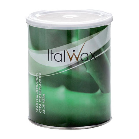Italwax Liposoluble Aloe Vera Cold Wax 800g for removal of thin light hair