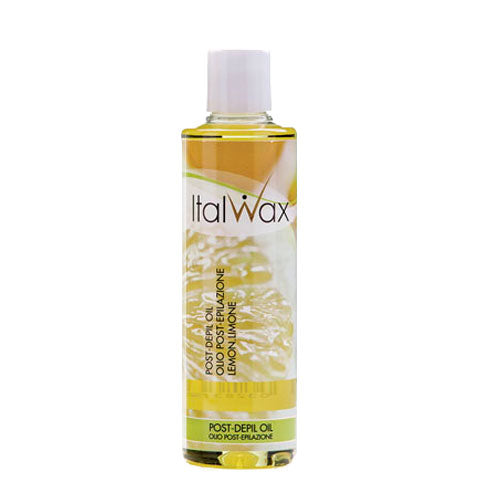 Italwax After Wax Lemon Oil 250ml protect, soothe and moisturize skin after deiplation