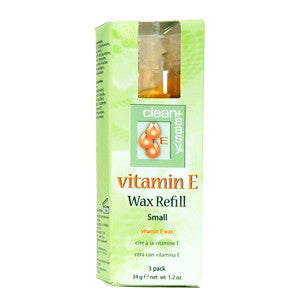 Clean+easy Vit E. Small Face Wax Refill 3's