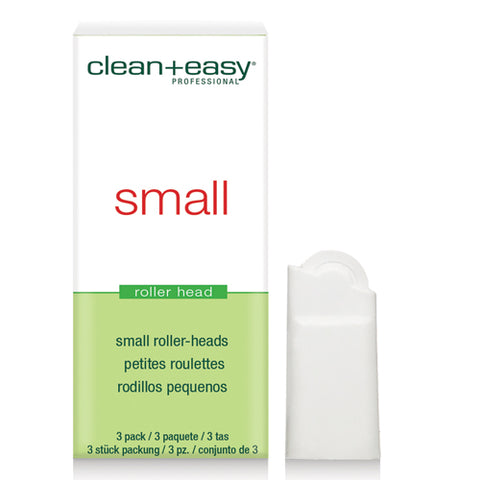 clean+easy Small Wax Roller Heads 3's fits clean+easy facial wax cartridges