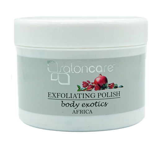Salon Care Exfoliating Polish 250ml for body and feet exfoliation