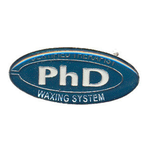 PhD Waxing Badge