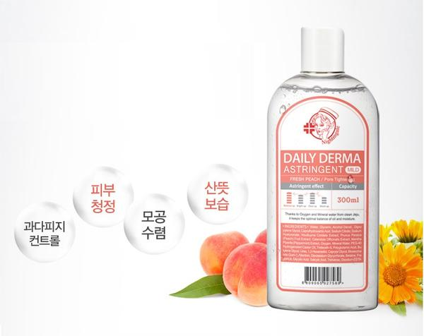 Nightingale Daily Derma Eraser Toner - Fresh Peach
