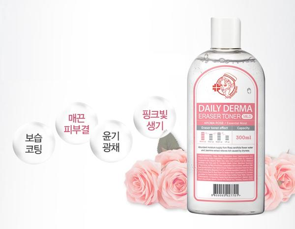 Nightingale Daily Derma Eraser Toner - Aroma Rose
