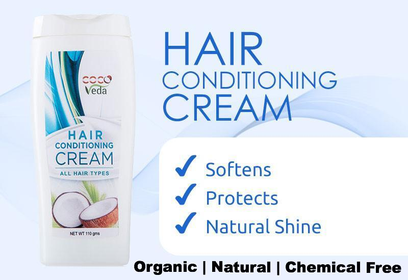 Coco Veda Hair Conditioning Cream (All Hair Types)