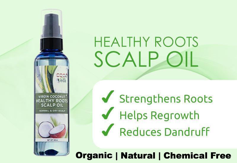 Coco Veda Healthy Roots Scalp Oil