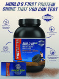 WHEYBETTER Foods BUILD UP whey protein powder 1kg with FREE protein purity test kit (worth INR 300/-)