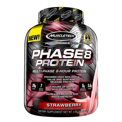 MuscleTech Performance Series PHASE8 STRAWBERRY 4.6LBS