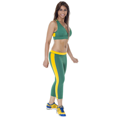 Brazil Capri Leggings