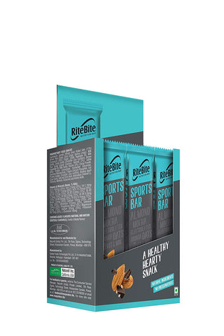 RiteBite Sports Bar - 480g (Pack of 12)