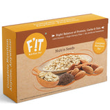 F'iT Nutrition Bar Protein-rich Nut (Almond) and Seeds (Sunflower, Pumpkin, Flax, Chia) Nutrition Bar -210 gm, 35 g x 6 - Pack of 6