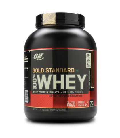 Optimum Nutrition (ON) 100% Whey Gold Standard  5 LB , EXTREME MILK CHOCOLATE